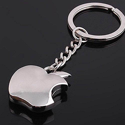 Apple Logo Chrome Metal Keychain Lowest price online for
