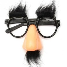 Disguise Moustache Glasses with Nose
