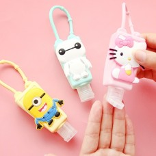 Cool Trends Silicon Hand Sanitizer with Silicon Holder - Assorted Design