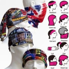Multi functional Stylish Unisex Bandana Multi Scarf Seamless Headnecker