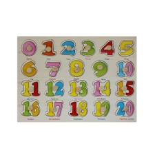 Early Learning Puzzle Boards - Countable Numbers