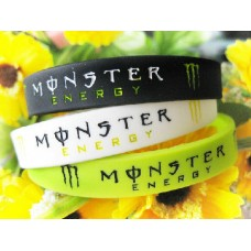 Monster Fashion Silicone Rubber Wrist Band - Unisex