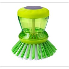 Cleaning Brush with Liquid Soap Dispenser