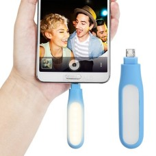Micro USB OTG Powered Portable Selfie LED Flash Light For Android Smartphone