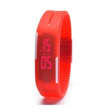 Sport LED Silicone Analog Unisex Watch for Men, Women and Children