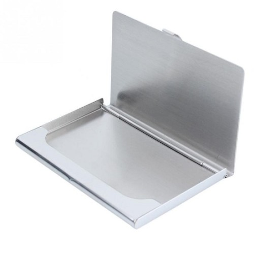 Fashionable steel visiting card holder for atm credit card fashionable steel visiting card holder reheart Choice Image