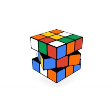 Magic Cube 3x3x3 White Stickerless Speed Rubik's Cube